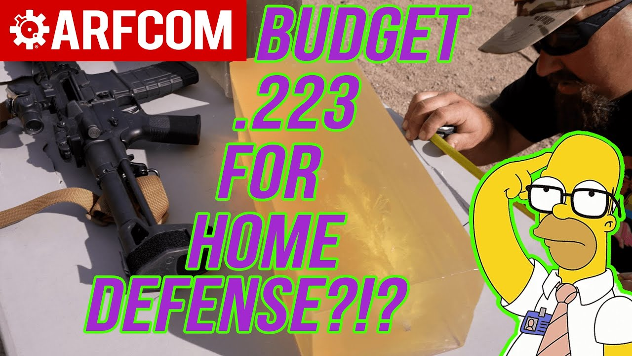 Would YOU Depend On Budget Ammo For Your Home Defense AR? .223 Armscor 62gr JSP Gel Test