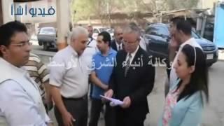 بالفيديو: محافظ المنيا يتفقد أعمال المرحلتين الثانية والثالثة لتطوير عشش محفوظ بحي أبوهلال