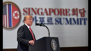 Trump gives press conference after summit with Kim Jong-un - watch live