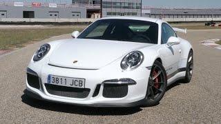 Espectacular prueba del Porsche 911 GT3 2015 en circuito - Drift