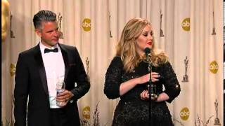 Adele wins Oscar for Skyfall theme at Academy Awards Oscars 2013