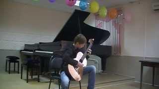 Выпускной экзамен в музыкальной школе.