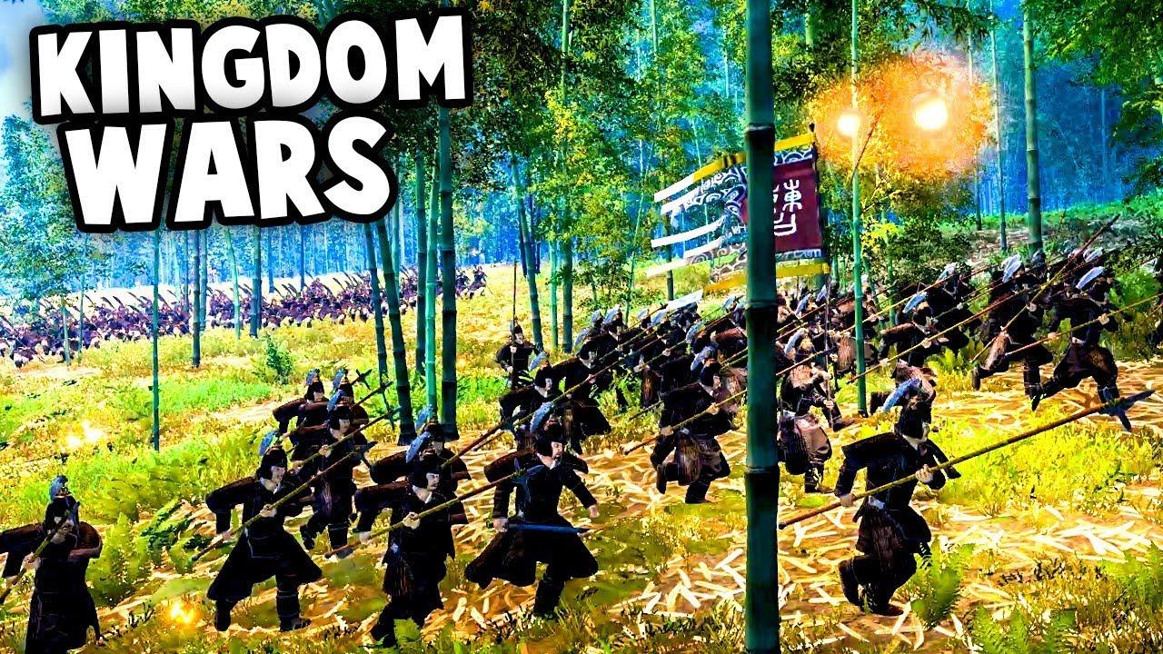 EPIC KINGDOM WARS! Ambush of Sun Ren! (Total War: 3 Kingdoms Gameplay)