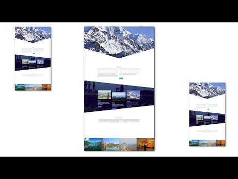 Build Travel Website HTML & CSS Website with Bootstrap 4 | Bootstrap Tutorial For Beginner thumbnail