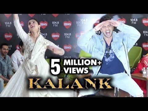 Alia Bhatt Varun Dhawan AMAZING DANCE On First Class And Ghar More Pardesiya | Kalank