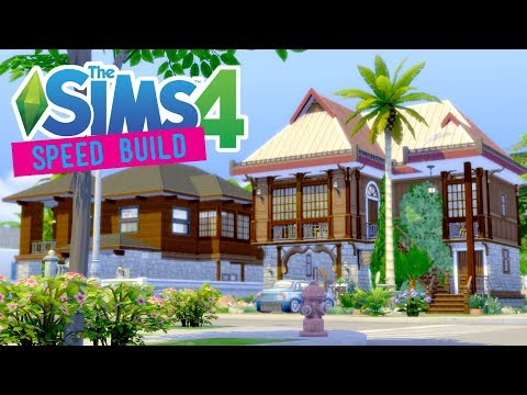 The Sims 4 -Speed Build- Philippines House Modern & Traditional (Collab w/ IrrelephantSims) -No CC-