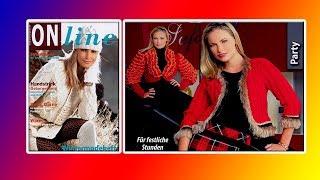Модели вязания для холодных дней .ON LINE 15