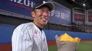 今シーズン限りで引退する岡田幸文選手の引退試合にカメラが密着しました。