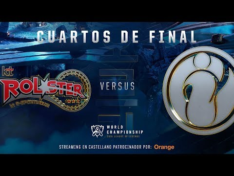 KT ROLSTER VS INVICTUS GAMING | MAPA 1 | WORLDS CUARTOS DE FINAL | LEAGUE OF LEGENDS WORLDS (2018)