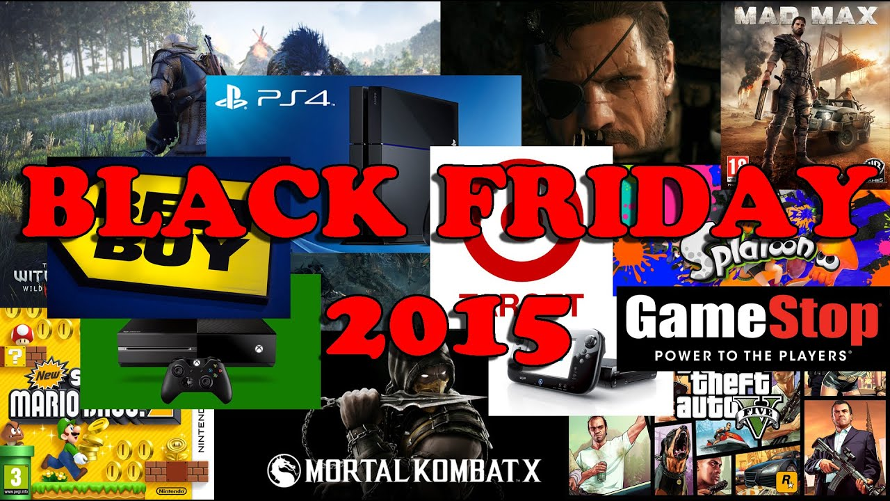 Black Friday 2015 Gamestop Best Buy And Target Youtube