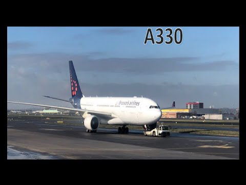 INFLIGHT: Brussels Airlines Airbus A330-300 Brussels(BRU)-New York (JFK)