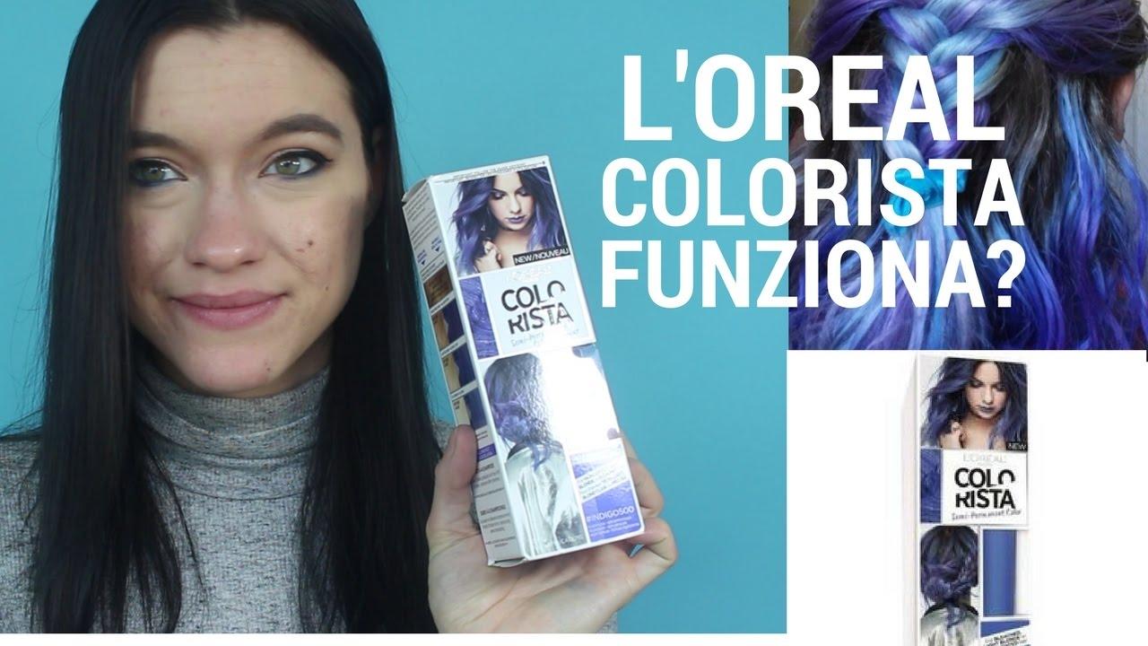 Tinte colorate su capelli biondi