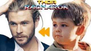 """""""Thor Ragnarok"""" Actors and Characters ★ Before and After"""