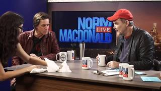 Jim Carrey reprises his role as the Juice Weasel | Norm Macdonald Live