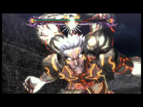 Asura's Wrath Augus Boss Fight! HD (720)