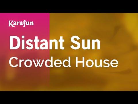 Karaoke Distant Sun - Crowded House *