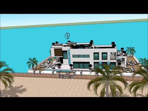 Trano modern sketchup youtube trano bongo madagascar maison