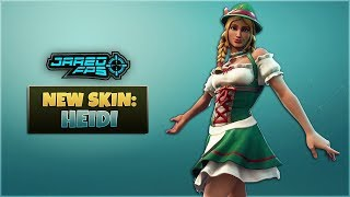 "Neue ""Heidi"" Skin - Fortnite Battle Royale - JaredFPS"