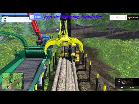 farming simulator 2015 mods brusks broyeur de bois. Black Bedroom Furniture Sets. Home Design Ideas