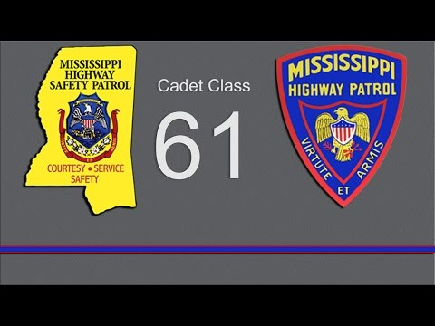 Mississippi Highway Patrol Cadet Class 61 Graduation | MPB