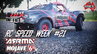 RC SPEED WEEK #21 - ARRMA Mojave 6S BLX with 20T Pinion