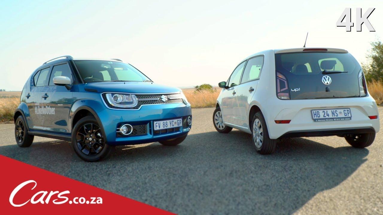 2017 Suzuki Ignis Vs Volkswagen Up Budget Car Showdown Youtube