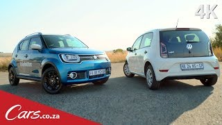 2017 Suzuki Ignis vs Volkswagen Up! - Budget car showdown