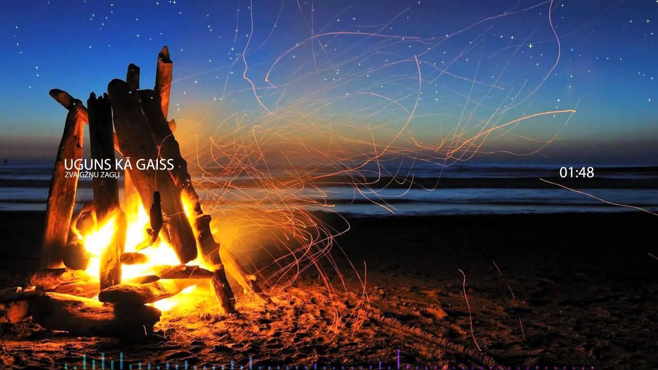 zvaigznu zagli uguns ka gaiss