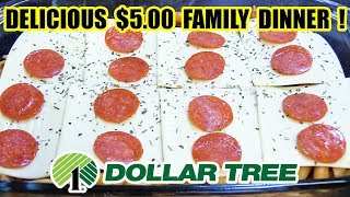 Dollar Tree $5.00 Family Dinner - WHAT ARE WE EATING? - The Wolfe Pit