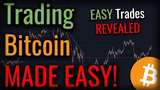 Secret To Bitcoin Trading - Bitcoin Trading Is EASY!