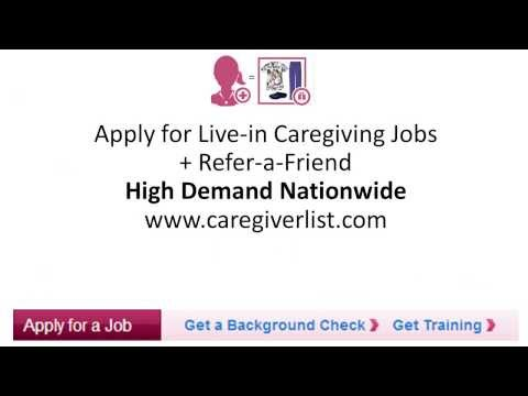Live In Caregiver Jobs