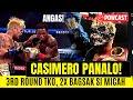 Congrats John Riel Casimero BAGSAK sI MICAH | 3rd Round TKO !!! ANGAS NG PINAS!!!