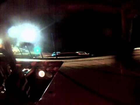 Sumter Speedway William Disher in car cam 05312014