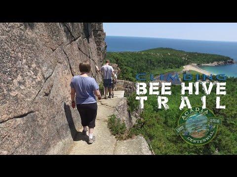 Bee Hive Trail Climb | Acadia National Park (DJI Osmo Filmed)