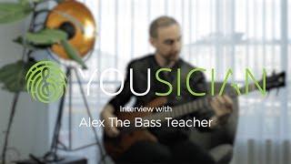 Interview with Alex the Bass Teacher - Yousician