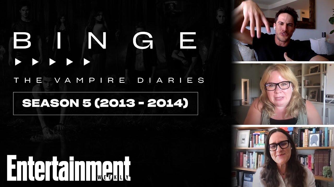 Download 'The Vampire Diaries' Season 5 Recap | EW's Binge | Entertainment Weekly