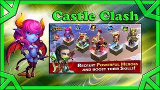 Jogando o game castle clash [paralelo ao clash of clans]