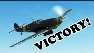 IL2 Battle of Stalingrad Live Multiplayer - Experiment Successful (109 E7 gameplay)