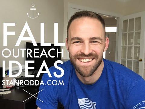 Fall Outreach Ideas 2015