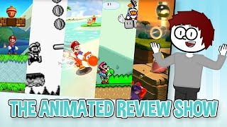 Worst to Best Mario Platformers! - The Animated Review Show #4