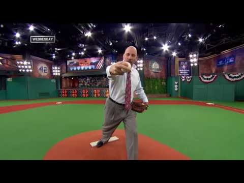 John Smoltz On The Destruction Of A Slider On A Pitcher