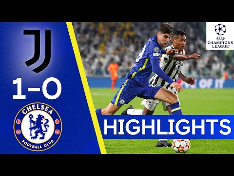 Juventus 1-0 Chelsea |  Champions League highlights