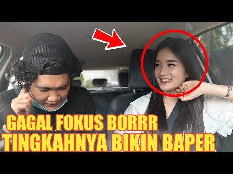 PRANK TAXI ONLINE!! GAGAL FOKUS DI BUATNYA BORRR BENING BANGET