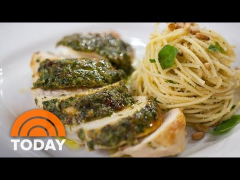 Make Pesto-Glazed Chicken Breasts In 20 Minutes, The Curtis Stone Way | TODAY