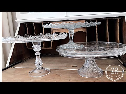 My Crystal Cake Stand Collection || My Three Favorite Pieces