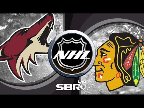 NHL Picks on a Total for Coyotes vs Blackhawks Tonight