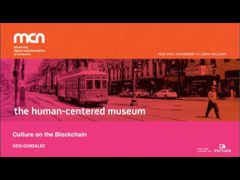 MCN2016 - Culture on the Blockchain