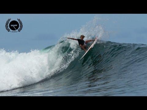 Super Grom Shreds Indo | LUCKY 13 | Sam PITER | Skuff TV Surf