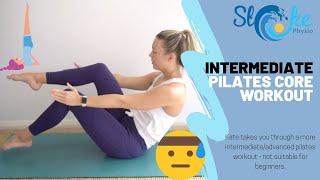 Intermediate Pilates Core Workout | Stoke Physio
