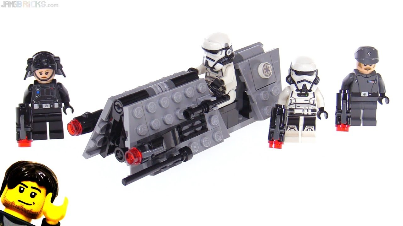 Lego star wars imperial patrol battle pack review 75207 - Croiseur star wars lego ...